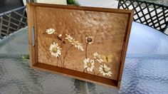Marquetry tray by Jim Rogers