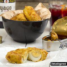Una nueva idea para aperitivo, estos huevos a la zamorana os aseguran un vermú perfecto en casa.