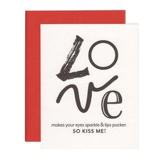 LOVE MAKES greeting card