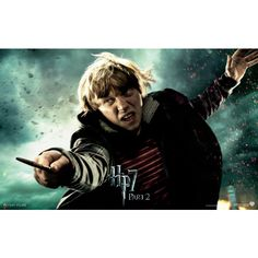 Harry Potter and the Deathly Hallows: Part 2 - Ron Weasley ❤ liked on Polyvore featuring harry potter and rupert grint