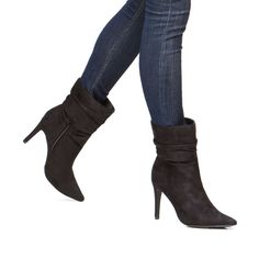 New Womens Ankle Over Knee Faux Leather Thigh High Flat Heel Boots Shoe 6 - 11 #Other #AnkleBoots