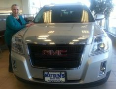 Have you had the chance to test drive our amazing fleet of #Buick and #GMC vehicles?  Be sure to stop into Burns Buick GMC this weekend for great saving on our 2013 models!    You are going to love our feature automobile of the week, the GMC Terrain.  This crossover SUV offers incredible comfort and performance with a four-cylinder or powerful V6 engine!    For more information and a no-obligation price quote, visit www.burnsbuickgmc.com