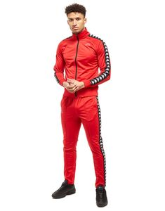 Kappa Anniston Tape Track Top - Shop online for Kappa Anniston Tape Track Top with JD Sports, the UK's leading sports fashion retailer. Kappa Tracksuit, Sport Fashion, Fashion Outfits, Sweat Clothes, Urban Style Outfits, Jd Sports, Afro Hairstyles, Hot Pants, Urban Fashion
