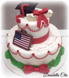 Graduated cake