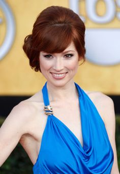 Ellie Kemper! I realized last night, watching The Office: THAT'S the hair color I want. Only good thing about The Office these days.
