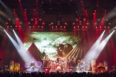 This is total and complete awesomeness!!!  This would make an amazing pic for harrison's room.  Rush Clockwork Angels tour. His first concert and fave drummer!!!  I'm in love with this!!!