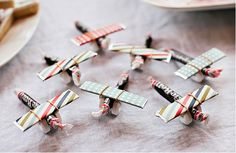 edible mini planes