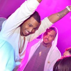Trey songz with Chris Brown