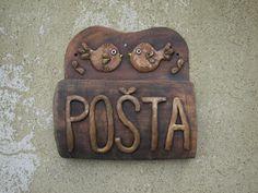 KERAMIKA Z FARY: POŠTOVNÍ SCHRÁNKY Post Box, Decorative Boxes, Ceramics, Wood, Glass, Home Decor, Ceramica, Pottery, Decoration Home