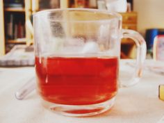 tea, illness, ill, rosetea :) Beer, Mugs, Tableware, Root Beer, Ale, Dinnerware, Tumblers, Tablewares, Mug
