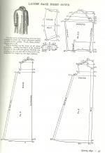 Les Fées Tisseuses :: Patrons 1800 à 1910 gratuits France Mode, Floor Plans, Diagram, Couture, Morning Coat, Riding Habit, Crafts, Paper Pieced Patterns, Haute Couture
