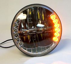 Acsesoris For Modification Of Cafe Racer Motor Led Motorcycle Headlight, Motorcycle Lights, Motorcycle Design, Bike Design, Motorcycle Parts And Accessories, Motorcycle Accessories, Custom Motorcycles, Custom Bikes, Custom Bobber