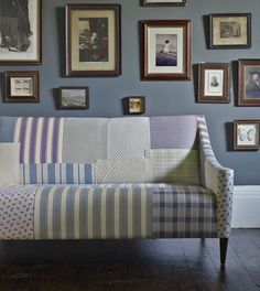 Linwood Fabrics available at Sue Foster Interiors, Emsworth www.suefoster.co.uk