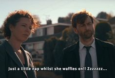 David and Olivia in Broadchurch season one Star David, Broadchurch, Bbc America, David Tennant, Season 1, Doctor Who, Fangirl, My Love, Memes