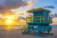 Miami Beach, salva vidas.