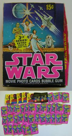 Star Wars Cards and Box Art