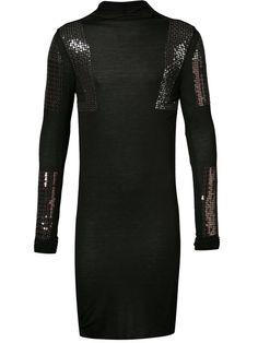 RICK OWENS Sequinned Shirt. #rickowens #cloth #shirt
