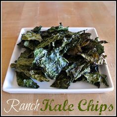 Mom, What's For Dinner?: Ranch Kale Chips