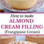 Egg Yolk Custard Recipe, Custard Recipes, Almond Cream, 4 Ingredients, Charts, Homemade, Baking, Cake, Bakken