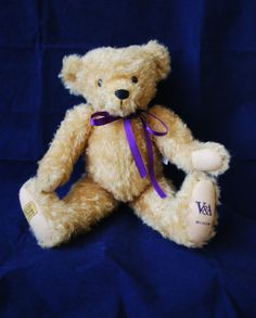 Merrythought Mohair V&A Teddy Bear Ltd Ed 4950 Unnumbered Exclusive Prototype