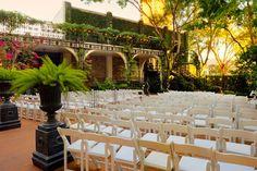 Courtyard on St. James Place ~ Houston, Texas #wedding #venue #reception