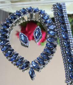 Bracelet Earrings Necklace Rhinestone Earrings by KDBridal on Etsy, $159.00  http://www.etsy.com/listing/76360829/bracelet-earrings-necklace-rhinestone?ref=cat3_gallery_38
