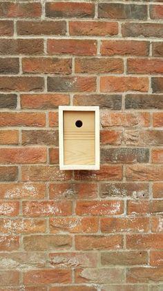 Items similar to Contemporary Wild Bird Nest Box Coal Tit, Nest Box, Great Tit, Blue Tit, Bird Boxes, Nesting Boxes, Bird Species, Wild Birds, Birdhouses