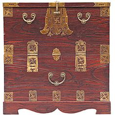 Oriental Brass-trimmed Cedar/ Hope Chest