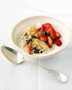 Breakfast Bulgur Porridge