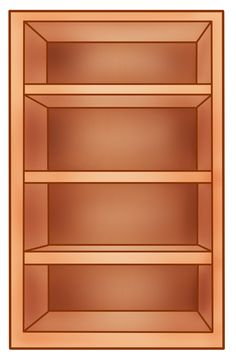 Empty bookshelf clipart from Berserk on. 15 Empty bookshelf png freeuse professional designs for business and education. Clip art is a great way to help illustrate your diagrams and flowcharts. Miniature Furniture, Doll Furniture, Clipart, Diy And Crafts, Crafts For Kids, Shape Games, Episode Backgrounds, Elements Of Art, Toys Shop