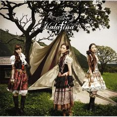 Japanese dolly kei band, Kalafina, album cover for Storia.