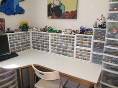 sorting lego