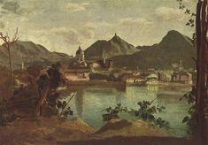 Town and Lake Como, 1834 - Camille Corot