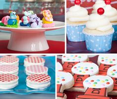 Cutie overview of some ideas for a bubblegum birthday party...