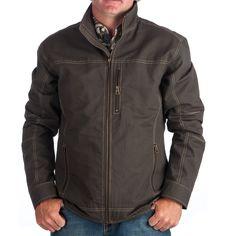 Shop Men's Cinch Brown Canvas Jacket