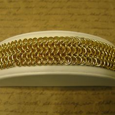 How to Make a Flat Maille Jump Ring Chain