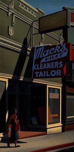Kenton Nelson, Mack's Valet