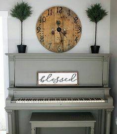 grey piano