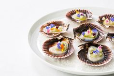 This cured scallop recipe makes the perfect summer canapé, full of fragrant, delicate flavours that are perfect for a special occasion.