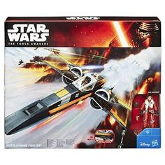 Launch into action and adventure in the world of Star Wars!;Solid Poe Damerons X-Wing Fighter!;Star Wars Force Awakens Class 1 Vehicle!;Includes vehicle figure 2 accessories projectile and instruct...