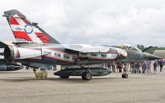French Armée de l'Air Dassault Mirage F1CR. Escadron de Reconnaissance 2/33 Savoie, in special scheme for the squadron's centenary in 2012.