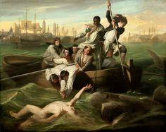 John Singleton Copley, Brook Watson and the Shark, 1778