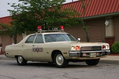 1973 Plymouth Fury, Illinois State Police....