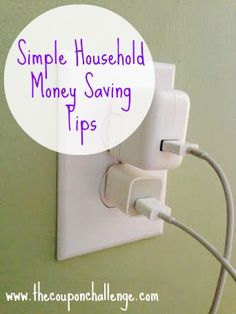 3 Household Money Saving Tips - Save daily with these 3 easy tips!