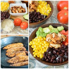 Chicken Burrito Bowl Recipe