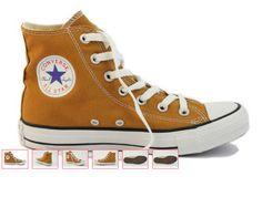 no Sennepsgule converse Converse Chuck Taylor High, Converse High, High Top Sneakers, Chuck Taylors High Top, High Tops, Shoes, Fashion, Moda, Hi Top Converse