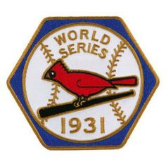 Departments - 1931 WORLD SERIES PATCH