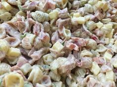 Voita ja Suolaa: Meetvurstisalaatti Salad Dressing, Pasta Salad, Potato Salad, Recipies, Goodies, Food And Drink, Snacks, Baking, Ethnic Recipes