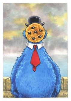 Magritte - Cookie Monster