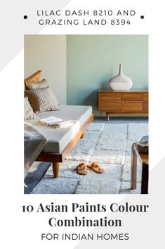 10 Asian Paints Colour Combination for Indian Homes -- Our Favourites! Bedroom Wall Paint Colors, Asian Paints Colours, Asian Paint Design, Asian Paints Royale, Best Bedroom Colors, Indian Homes, Paint Combinations, Color Combinations Paint, Color Combinations Home